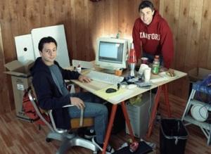 Οι δύο ιδρυτές της Google