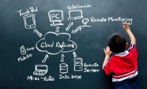 child-blackboard-technology